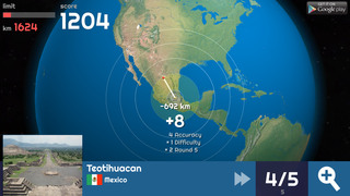 Globe Master 3D screenshot - mexico