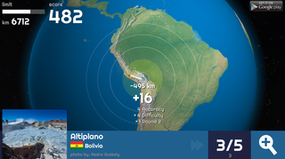 Globe Master 3D screenshot - south-america