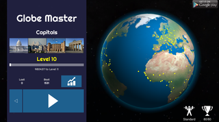 Globe Master 3D screenshot - capitals