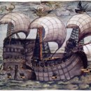 "Why in the past were European ships built with high wooden ""castles"" fore and aft?"
