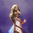 Which country did Conchita Wurst represent at the Eurovision contest?