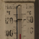 Who invented the mercury-in-glass thermometer?