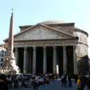 To whom was the Pantheon in Rome dedicated?