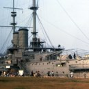 What was the name of the Japanese flagship during the Battle of Tsushima? (currently a museum ship in Yokosuka)