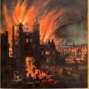 According to tradition, how many people were killed in the great fire of London in 1666?
