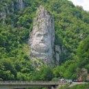 This is the the tallest rock relief in Europe. Whose face is it?