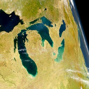 The Elevation of Lake Superior is 183m, Michigan 177m, Huron 176m and Erie 174m. How about Ontario?