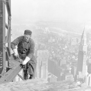 What was special about the construction of the Empire State Building?