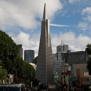This is well known Transamerica Pyramid in San Francisco. But what is Transamerica?