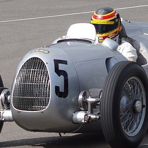 This race car was developed and built between 1933 and 1939. What brand was it?