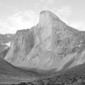 This is Mount Thor on Baffin Island, Canada. What is it famous for?