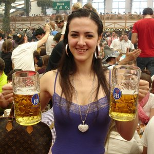 Where does Oktoberfest, the world's largest beer festival, take place?