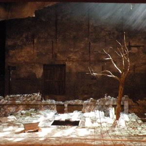 In Samuel Beckett's play 'Waiting for Godot', how does Godot look like?