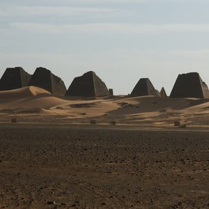 Which civilization built these pyramids?