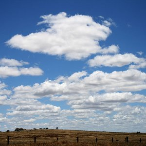 What kind of weather should you expect seeing these clouds called Cumulus humilis?