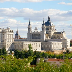 When was the cathedral in Madrid consecrated?