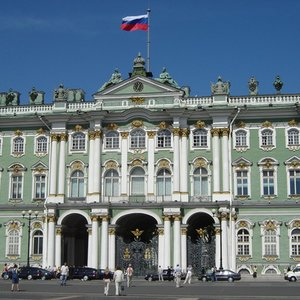 What was the name of the official residence of the Russian monarchs?
