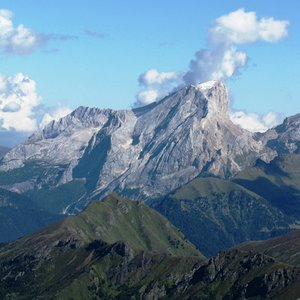 What is the name of the highest mountain of the Dolomites?