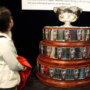 In which sport is the Davis Cup awarded?