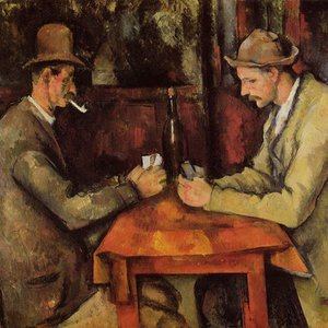 Who painted The Card Players, one the most expensive works of art ever sold?