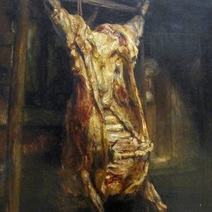 Who painted the Slaughtered Ox?
