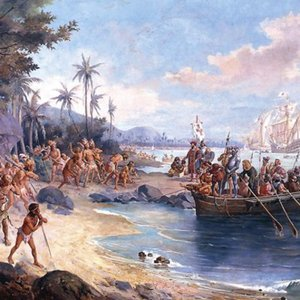 Who was the first European navigator to reach Brazil?