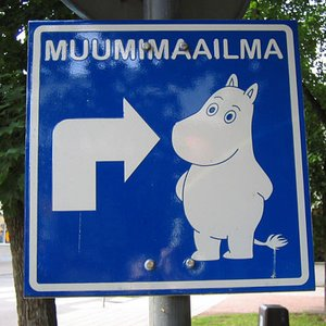 Where were the Moomins created?