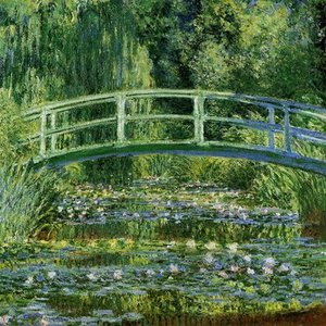 How many paintings called Water Lilies has Claude Monet created?