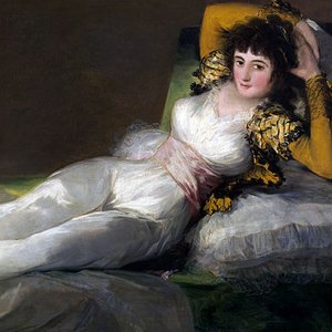 Two of Goya's best known paintings are The Nude Maja and The Clothed Maja. Who was Maja?