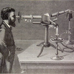 Who invented spectroscope?