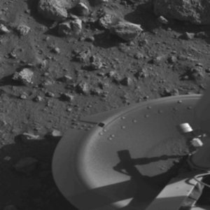 What was the first probe that successfully landed on Mars?