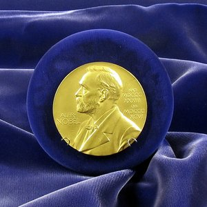 In how many fields of science were the Nobel Prizes originally awarded?