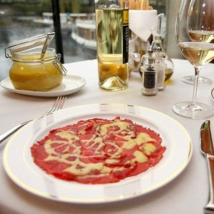 Where did the carpaccio originate?