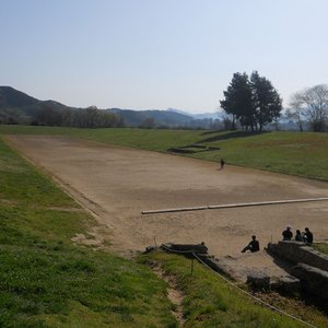 Until when were the ancient Olympic Games held?