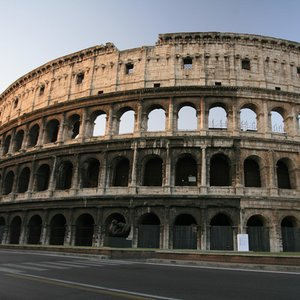 How is the Colosseum in Rome also known as?