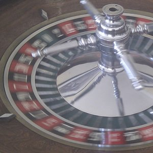 What is the sum of all the numbers on the roulette wheel?