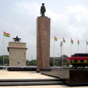 What is the capital city of Ghana?
