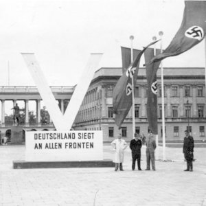 Which major German company was founded by the Nazis?