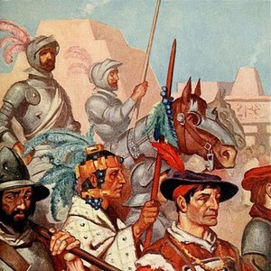 What did first Spanish conquerors expect to find in Argentina?