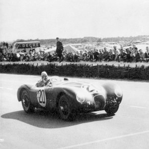A tragic disaster occurred during the 1955 24 Hours of Le Mans motor race. The leading Mercedes flung into the crowd, killing 83 spectators. Who won the race?