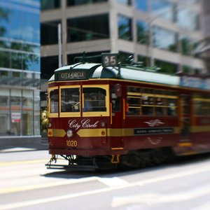 Which city has the largest tram network in the world?