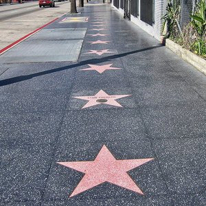 What happens if you are selected for the Hollywood Walk of Fame?