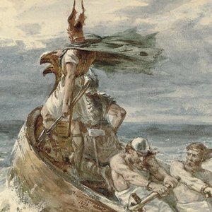 What is the name of the first Viking who became the King of England?