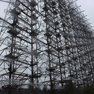What is the function of this colossal structure near Chernobyl?