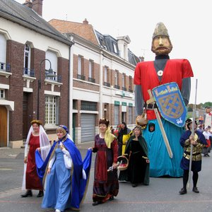Processional of giants and dragons are characteristic for ...