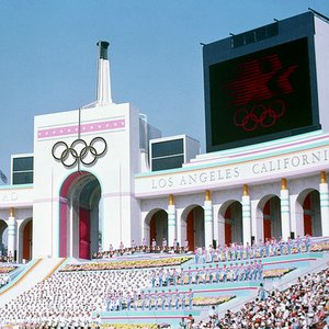 How many gold medals did USSR win at 1984 Olympic Games in Los Angeles? (USA got 83)