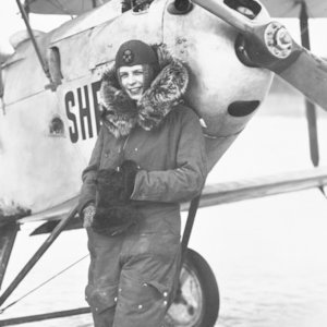 Who was the first female fighter pilot?