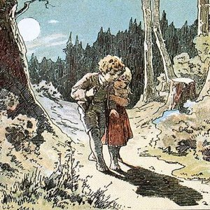 In a well-known fairy tale, why did Hansel and Gertel wander alone through the woods?