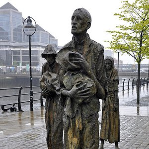 What led to The Great Ireland Famine between 1845 and 1852?
