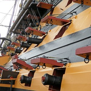 "HMS Victory is the only surviving example of a ship of the line. Where does the name ""of the line"" come from?"
